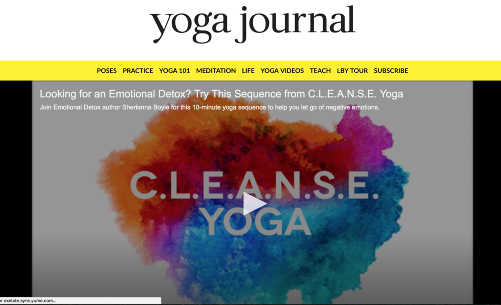yoga journal emotional detox