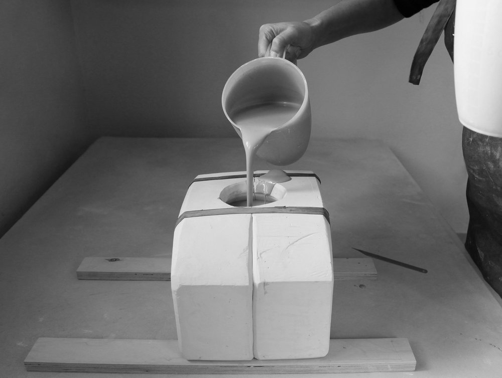 Slipcasting at Doda Design Studio