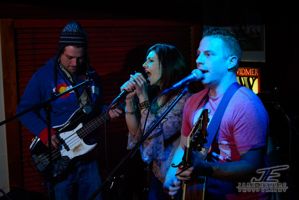 The Lovely Lost: Ross Wilson (Bass), Jo Bewley (Vocals), Michael Collins (Guitar, Vocals)