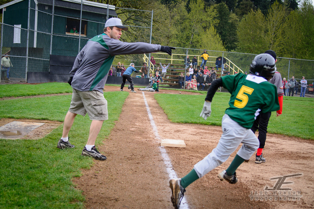 2014-04-05 - CLL Majors Green Sox vs. Centennial Eagles - Click through to see the game gallery and store.