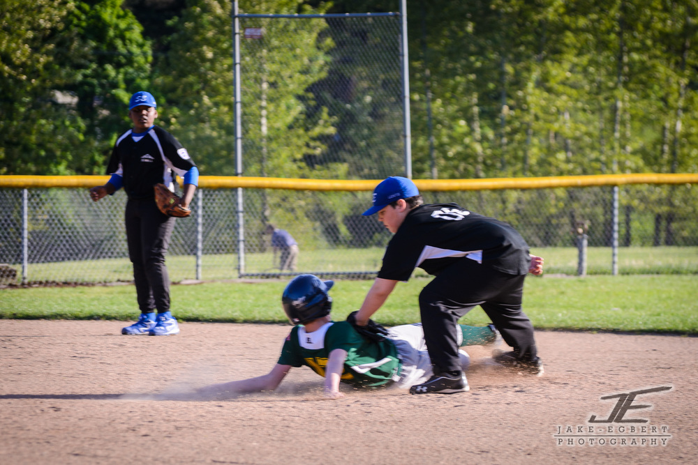 2014-04-30 - CLL Majors Green Sox vs. Lents Rebels.