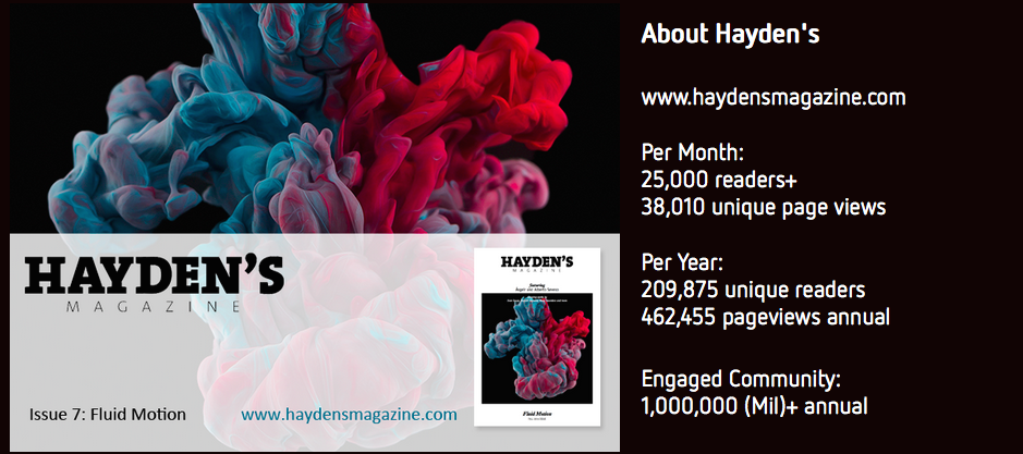 haydensmagazinereadership