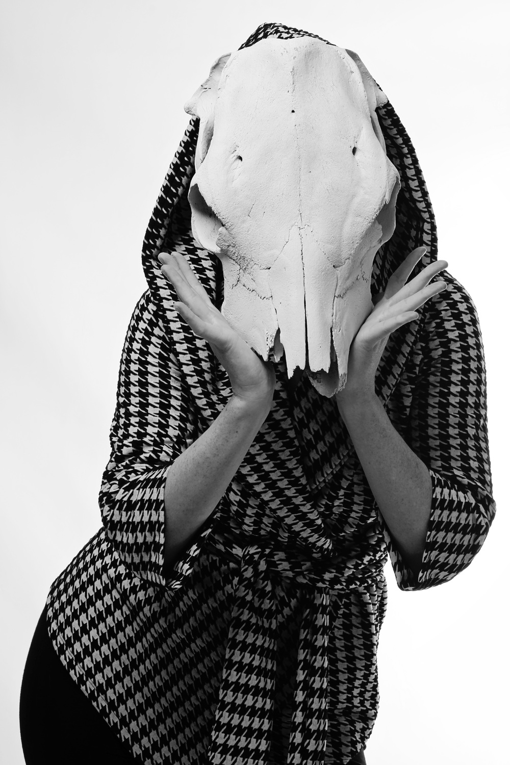 Project Houndstooth  Model Jessica Stark
