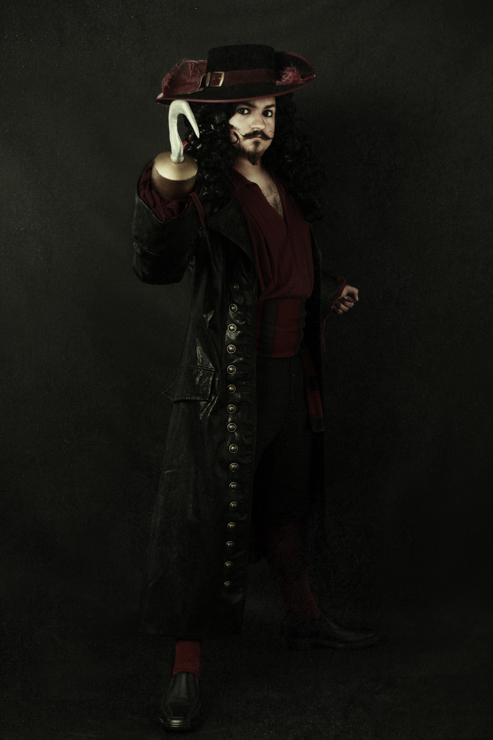 Character:  Captain Hook  Actor & Costume Creator:  Timothy Harris