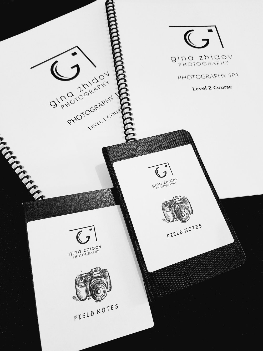 Field notebooks and course booklet