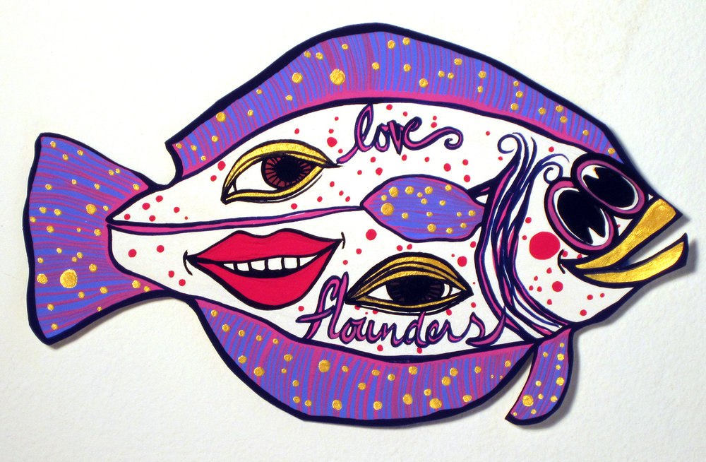 FLOUNDER PAINTINGS, 2010-2011