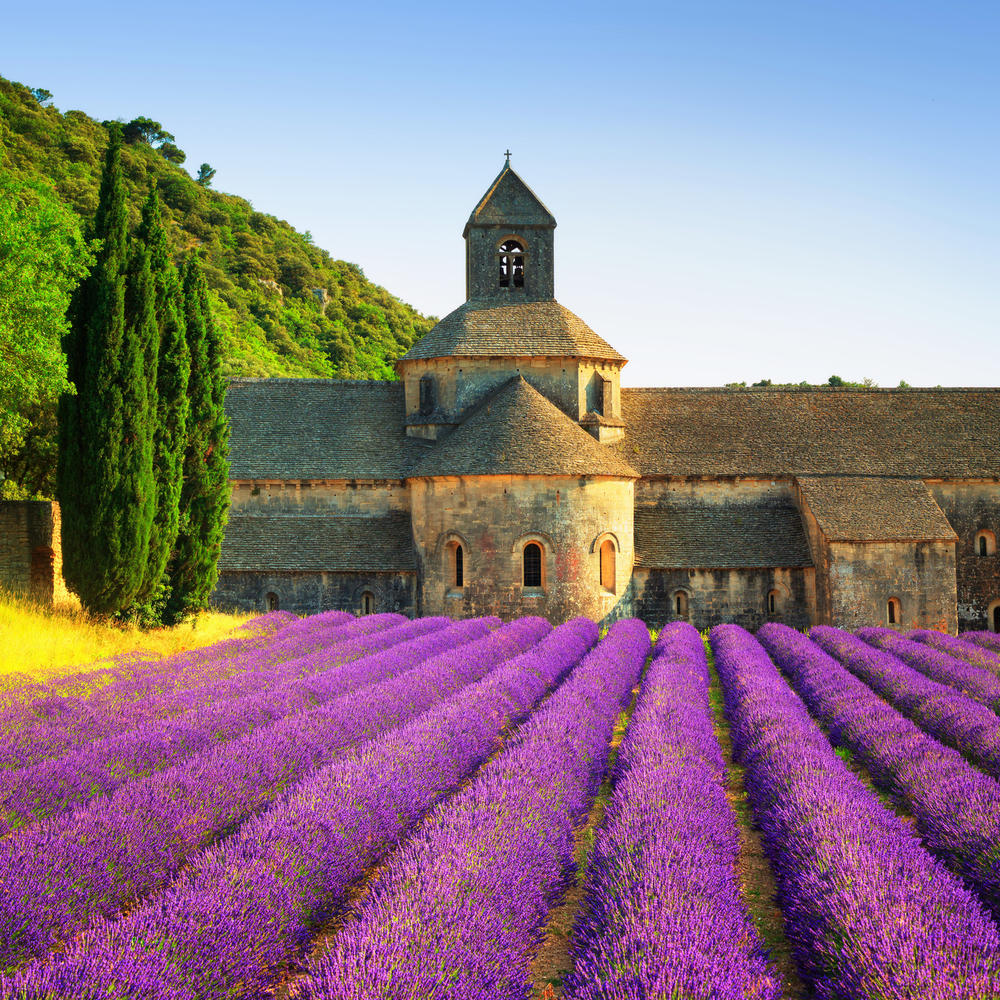 Nestled in a picturesque setting where it is bordered by the Italian Alps and the Mediterranean Sea, Provence offers views that are unrivaled.