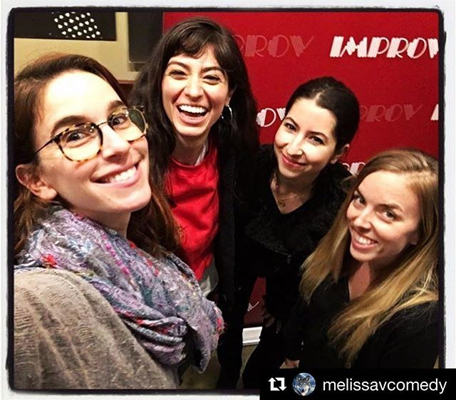 I've known these girls since I started comedy and last night we had the opportunity to share the same stage! Thanks to the truly magical @melissavcomedy for having us on her SOLD OUT show!!! ・・・ #Repost @melissavcomedy ・・・ My sweet funny pals @nicoleaimee @chasebernstein @jmscomedy ❤️thanks for rockin the show last night @breaimprov. And thanks to all the sweet people who came out ! Sold out! Eeeeee 😊i love you !!!!