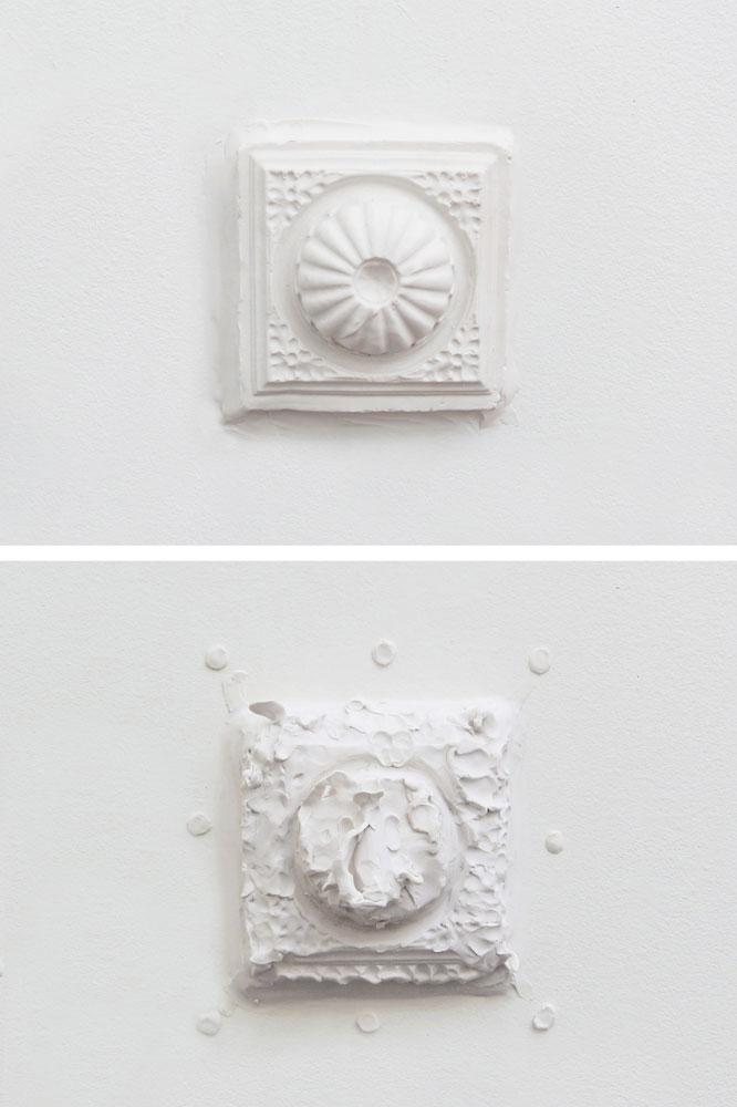 Malleable Ornaments,  plasticine,25 x 25 cm,2013,Göteborgs Konsthall