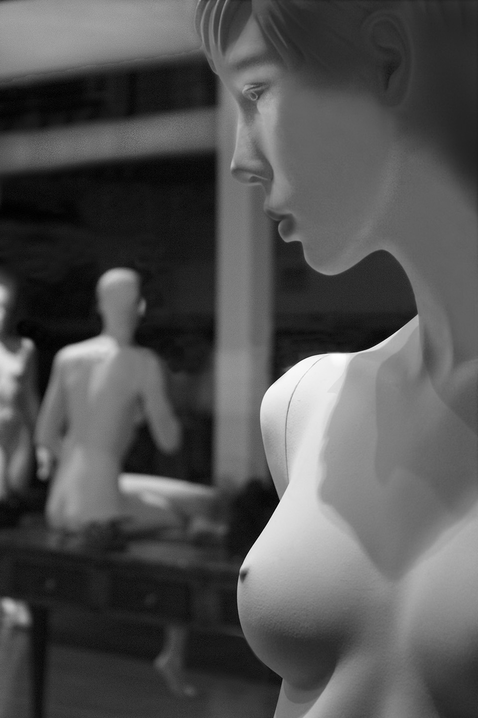 "Betrayal      Series: ""The Secret Lives of Manikins"""
