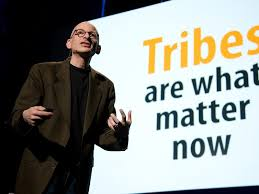 "Click to watch Seth Godin's TED Talk on his book ""TRIBES"""