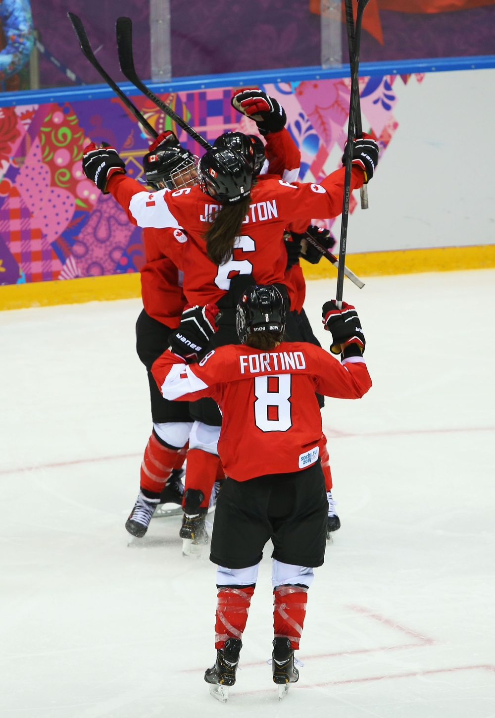 Canada WIns Gold in Women's Hockey