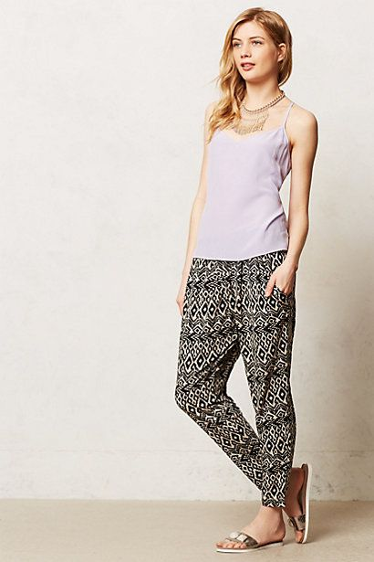 Deauville Joggers at Anthropologie