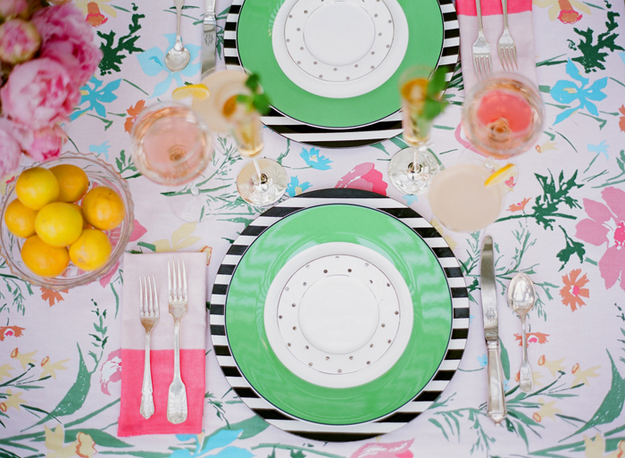Kate Spade Garden Party via Grey Likes Weddings