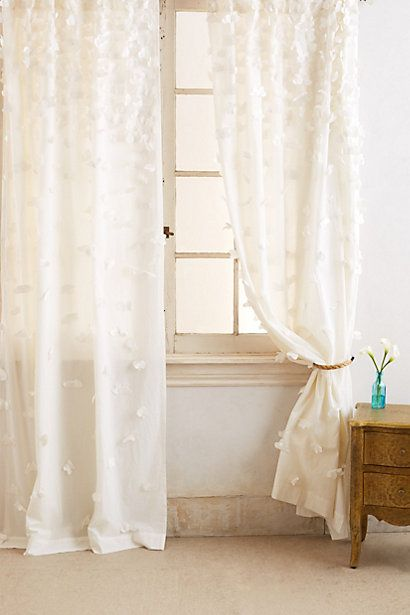{Fallen Petal Curtains From Anthr opologie}