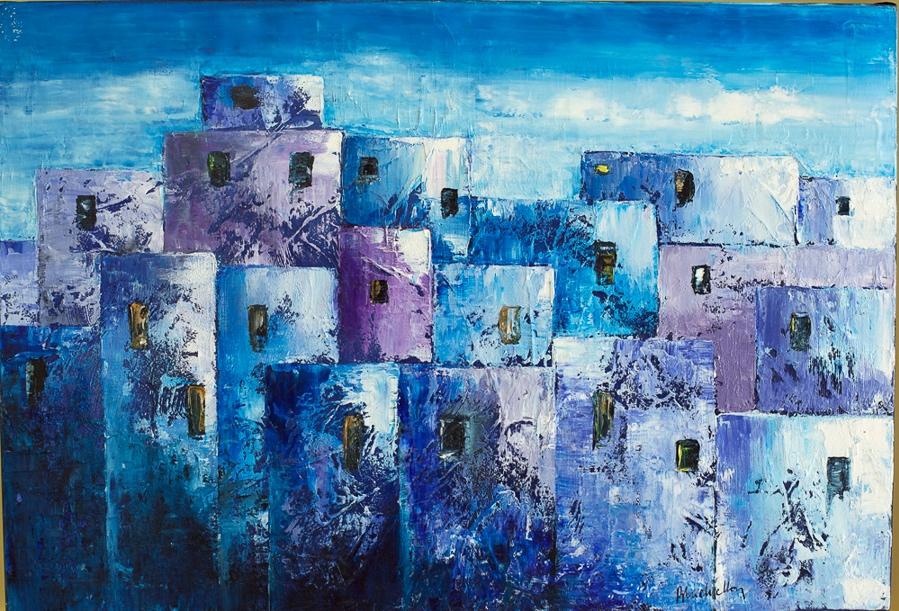 Les Maisons Bleues