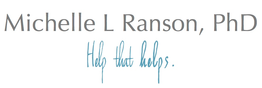 Michelle L Ranson, PhD -- Registered Psychologist