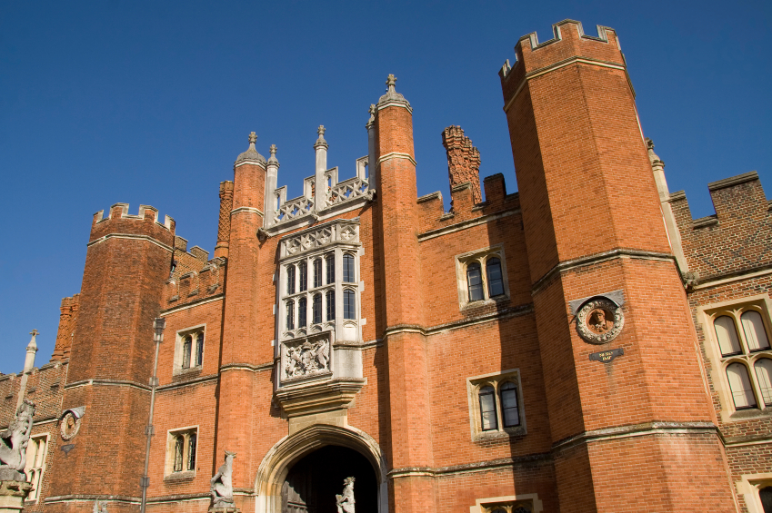 Hampton Court Palace, where Henry VIII had his Great House of Easement, which was basically a giant 28-seater toilet.