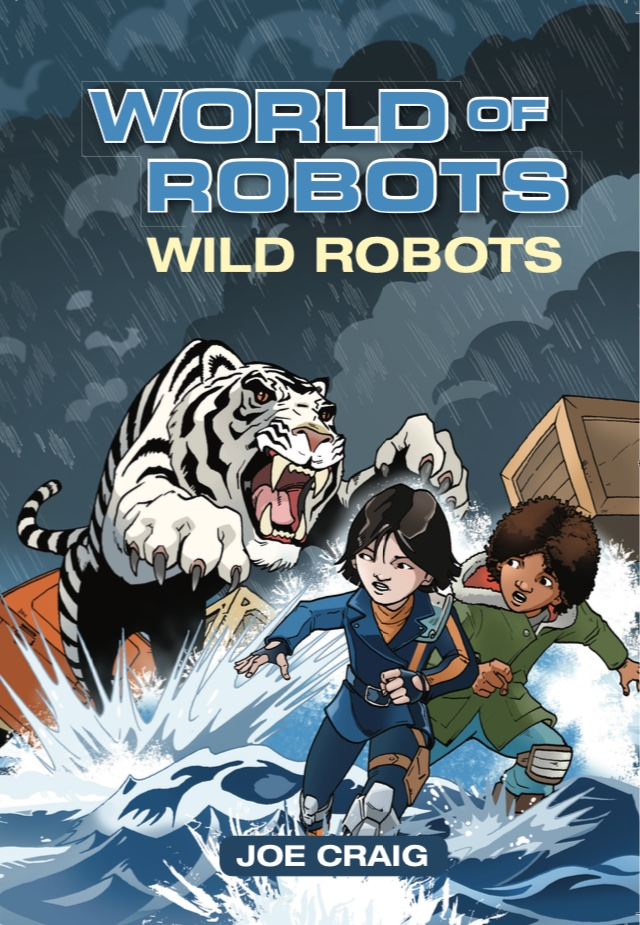 Book 2. Jango and Izza are trapped on a broken-down transporter ship during a storm when they find themselves facing down a wild beast. Can they make it off the ship alive?