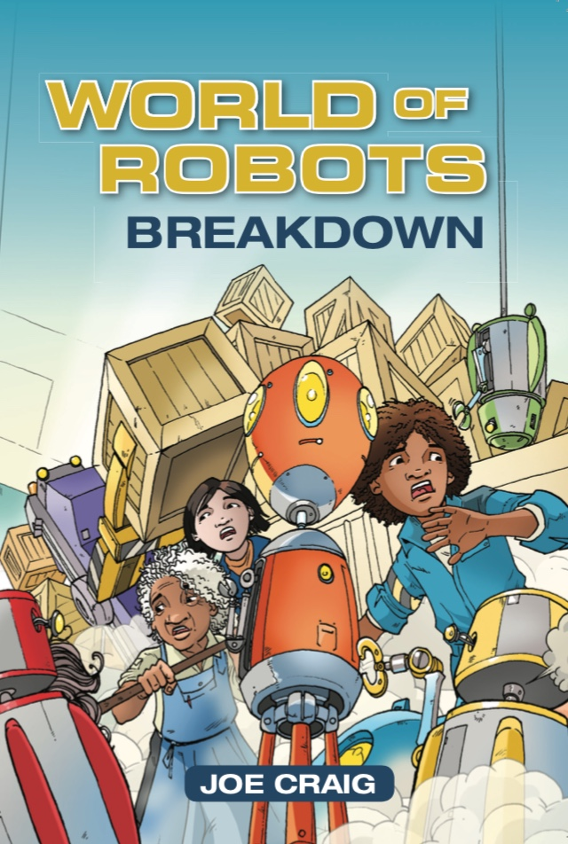 Book 3. When more and more robots start to go wrong, Izza thinks she's found the perfect way to fix them. Until one takes control in a way that nobody could have expected…