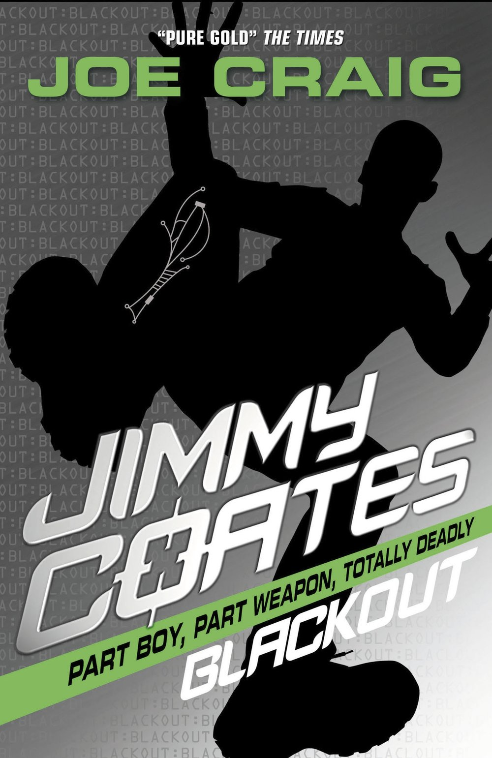 Book 7. Jimmy Coates can only trust one man to bring the country back from the brink of chaos. When that man disappears, Jimmy must battle the shadow of corruption. But the shadows are darker than they seem, and the darkness reaches further than Jimmy could ever imagine.