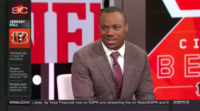 Jeremy Hill on SportsCenter in Own Only