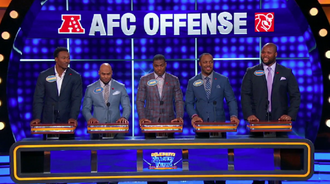 Jeremy Hill on Family Feud in Own Only