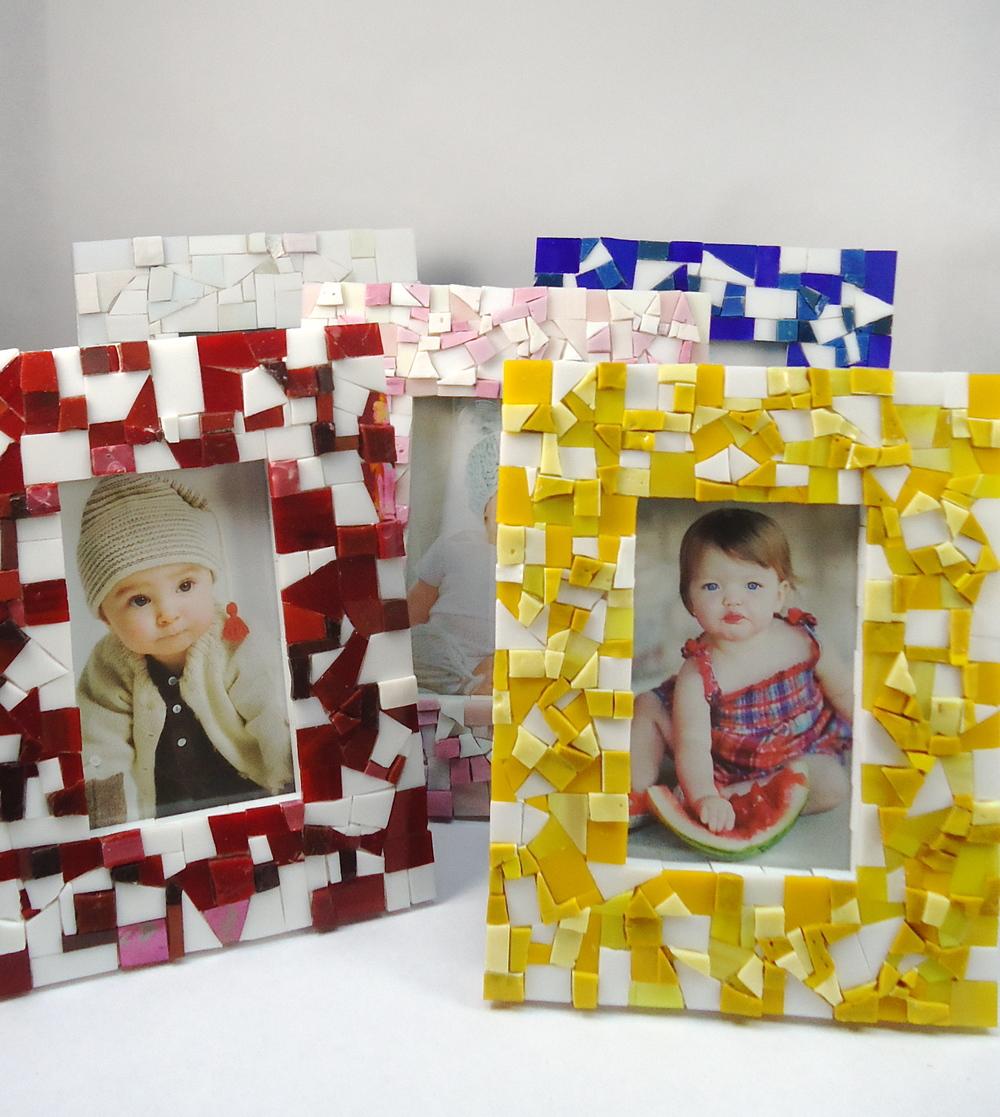mosaic baby frames.JPG