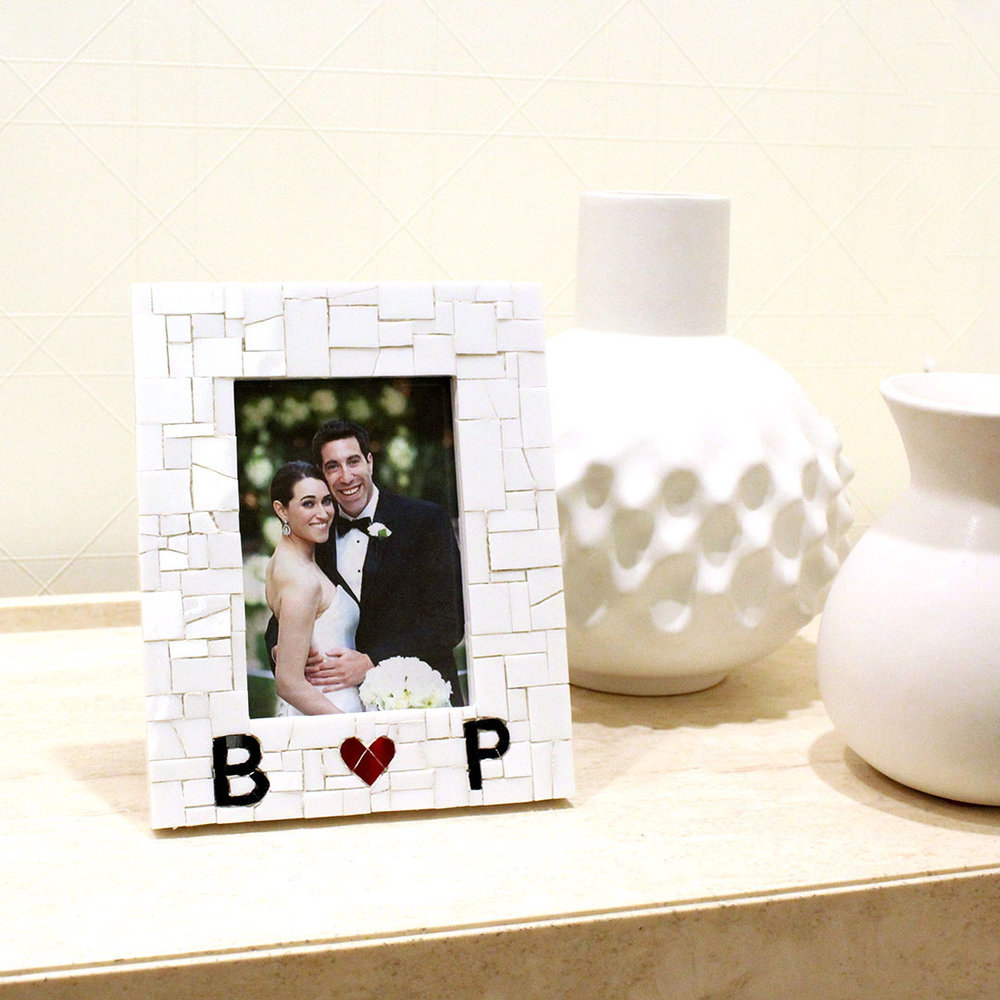 Personalized Frame for a Unique Engagement Gift — Live In Mosaics