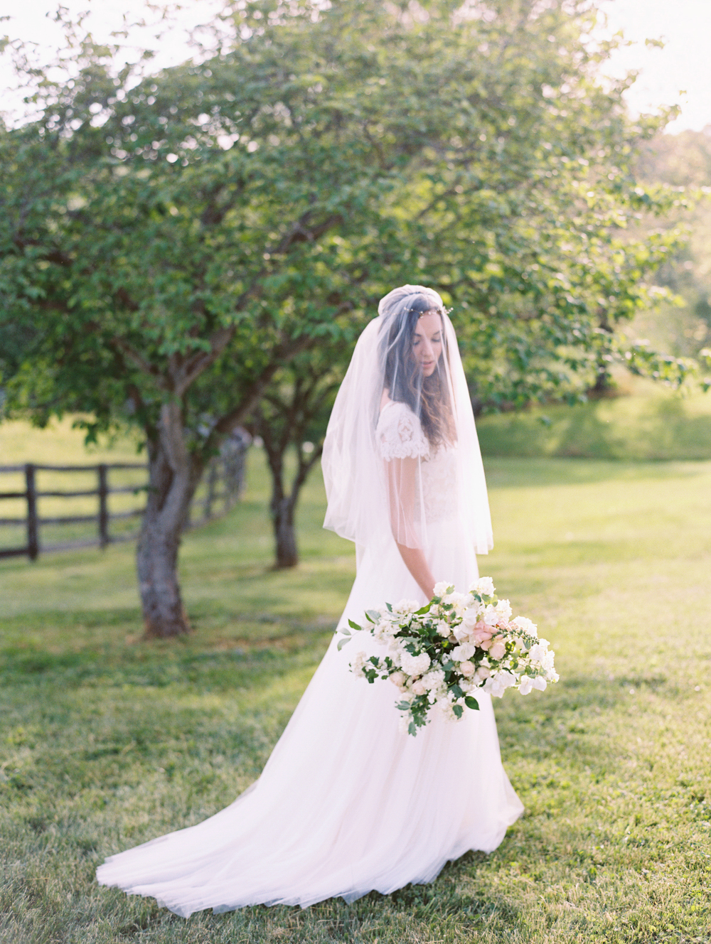 Middleburg Wedding Inspiration | Wild Green Yonder Bouquet