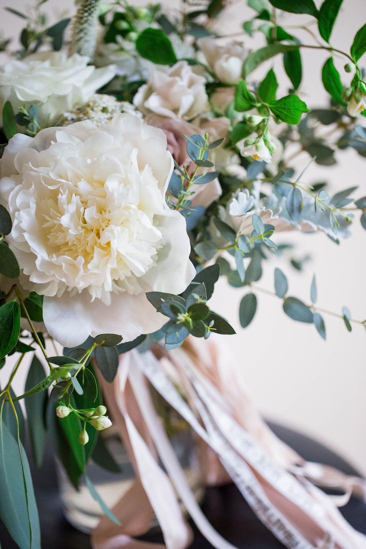 Wild Green Yonder Peony Bouquet