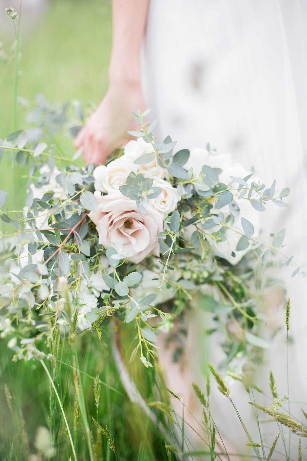 Wild Green Yonder | Natural Blush Bouquet