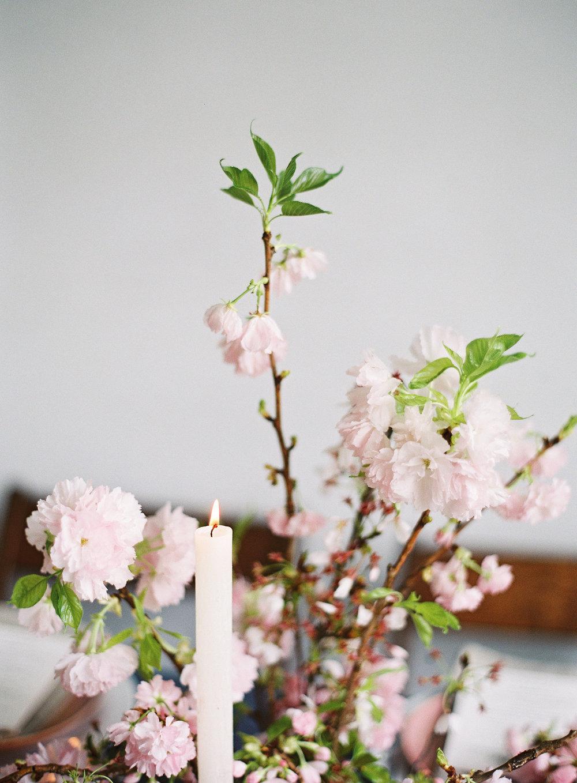 Cherry Blossom Wedding Centerpiece