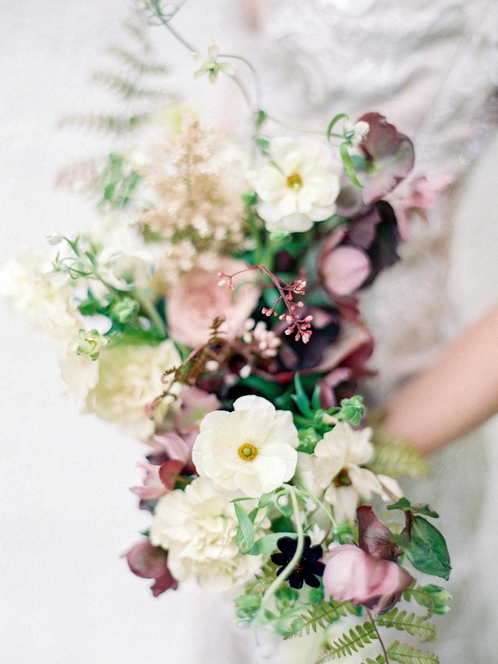 Leesburg VA Florist Wild Green Yonder Bridal Bouquet