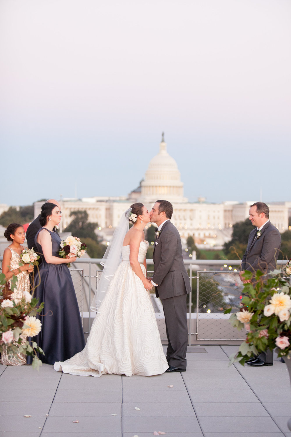 Newseum Wedding_DC Wedding Florist Wild Green Yonder