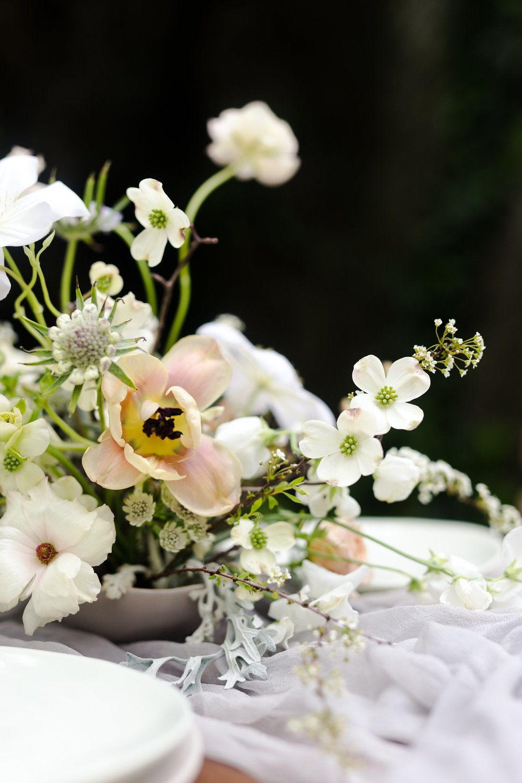 Wild Green Yonder Organic Floral Centerpiece