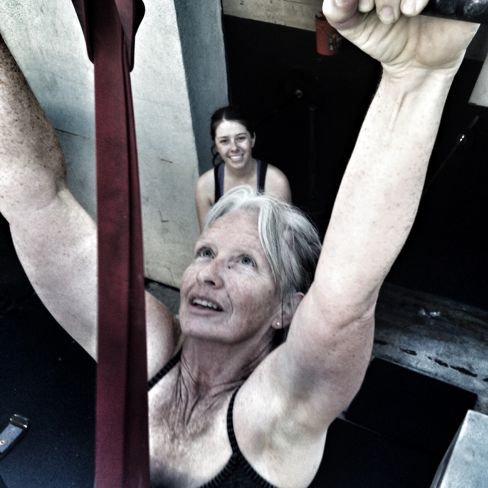 Donna. Happy Pull-Ups.  Photo by Rafael Vega