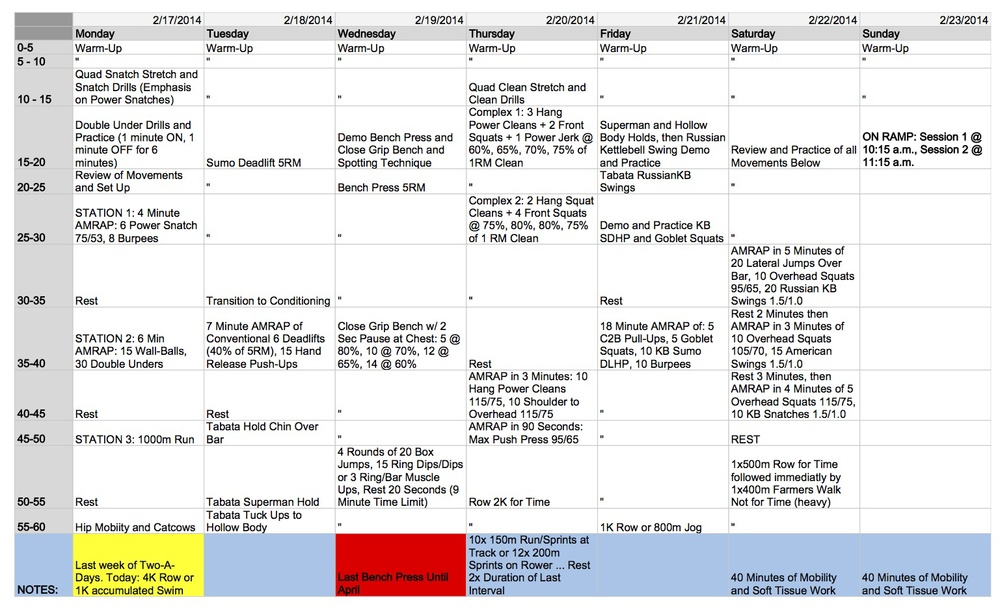 WOD Preview 2-17-2014