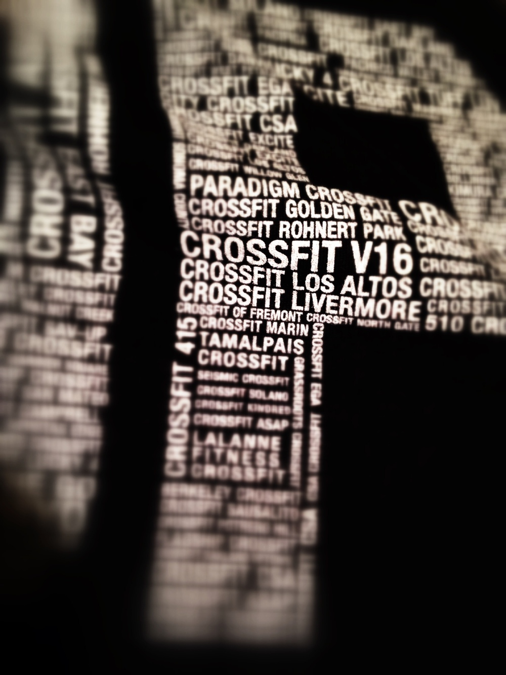 CrossFit Open. 14.5 T-Shirt.  Photo by Rafael Vega