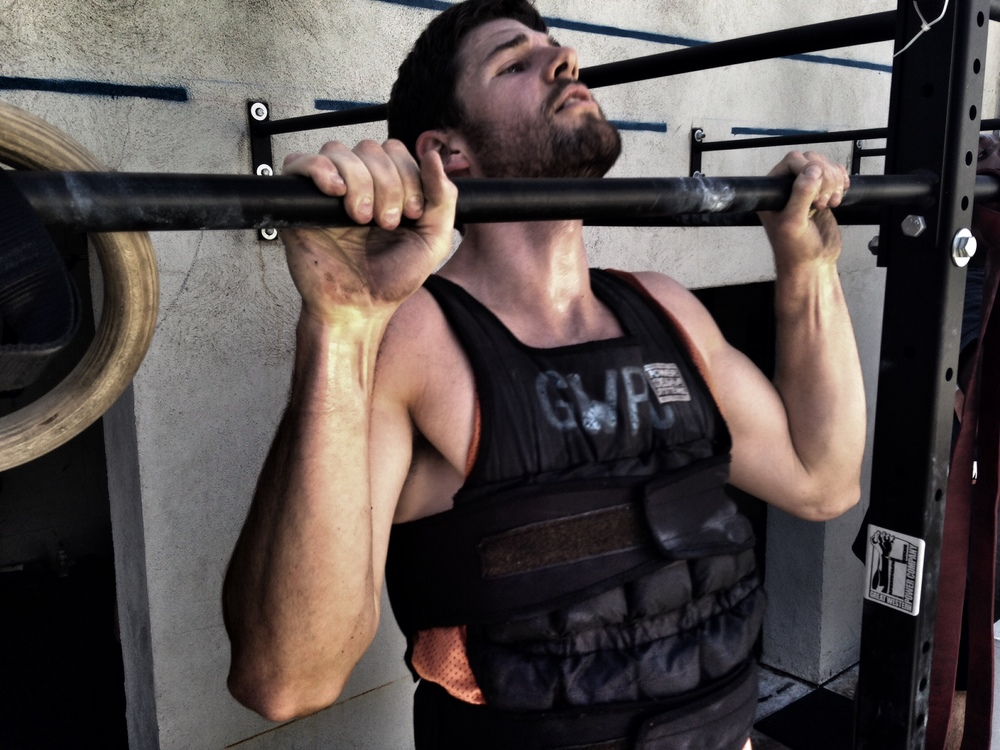 David. Murph. Pull-Ups.  Photo by Rafael Vega
