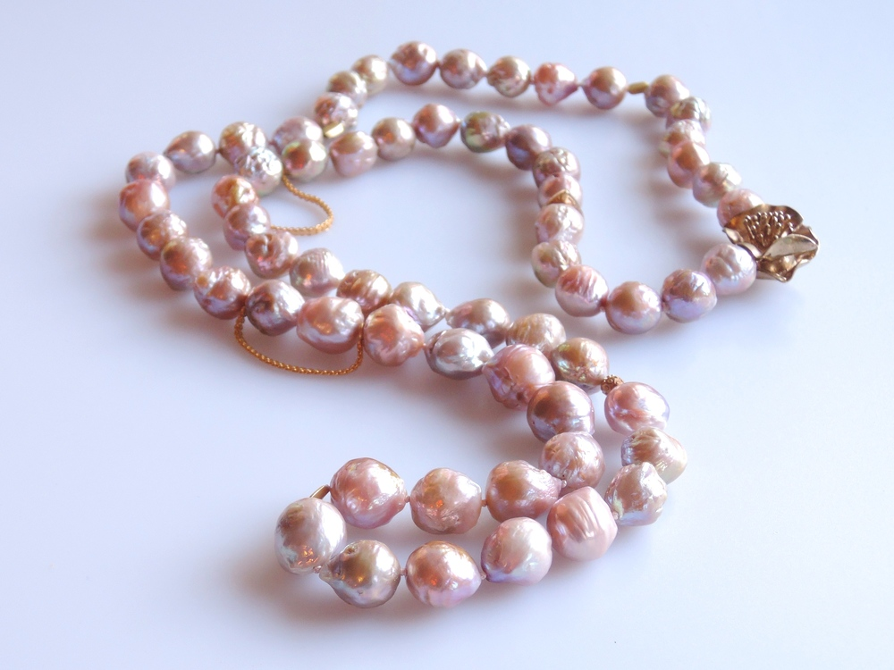 Freshwater Kasumi Natural  Pearls from Japan