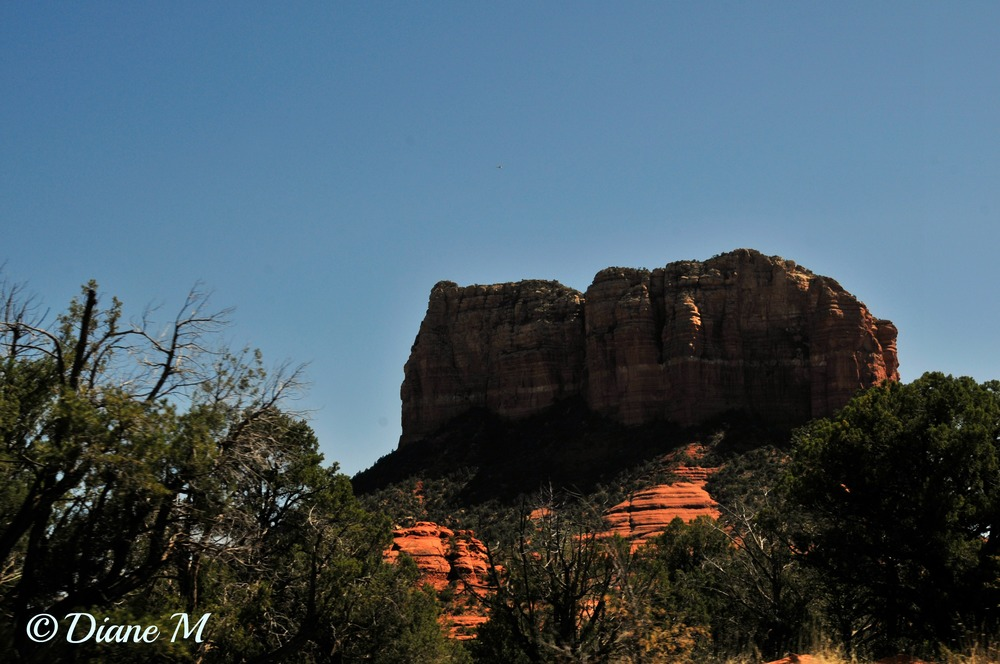 Rock formation at Sedona, Arizona