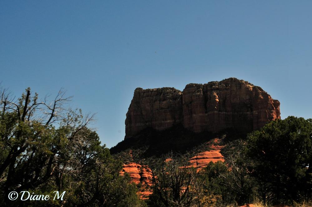 Rock formation at Sedona, Arizona