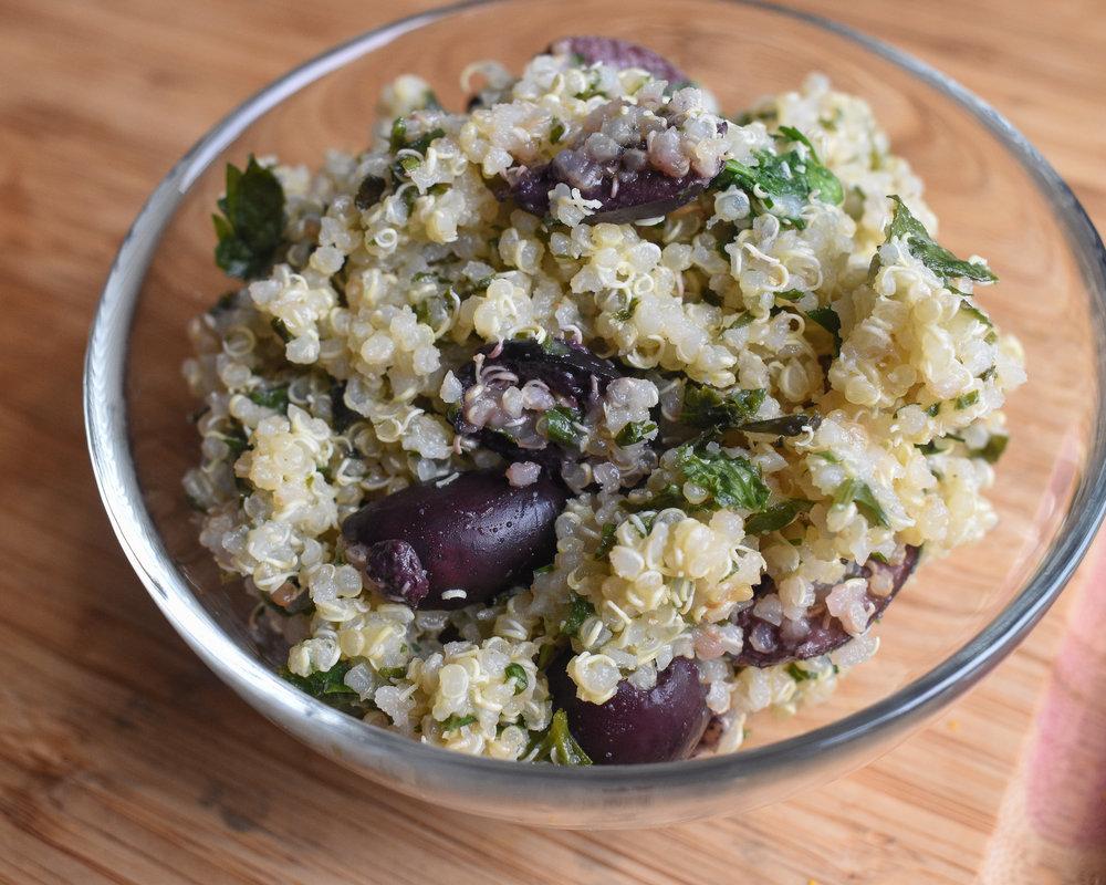 Quinoa Tabouli Salad, M.D.