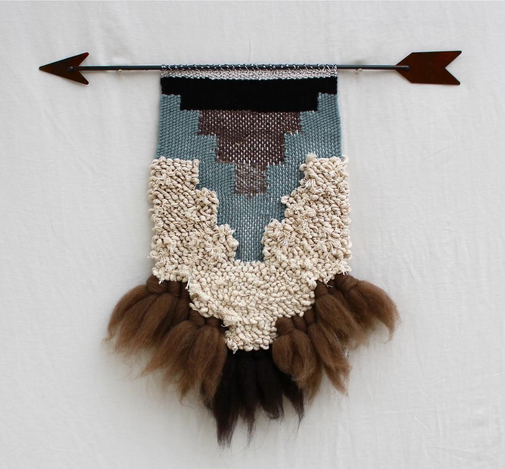 Teepee Rock Weaving