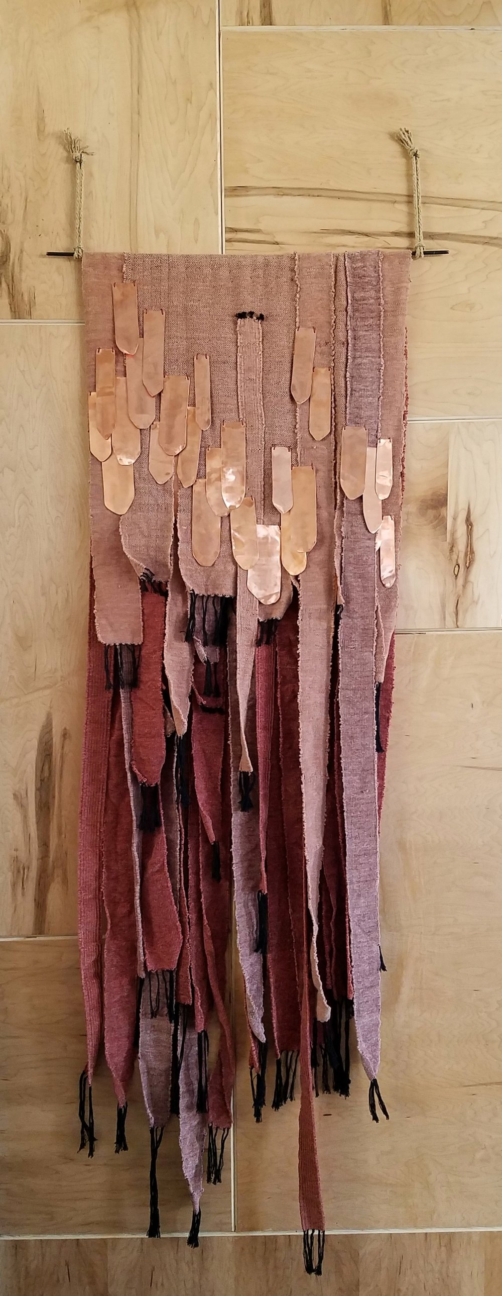 Pink & Copper Weaving