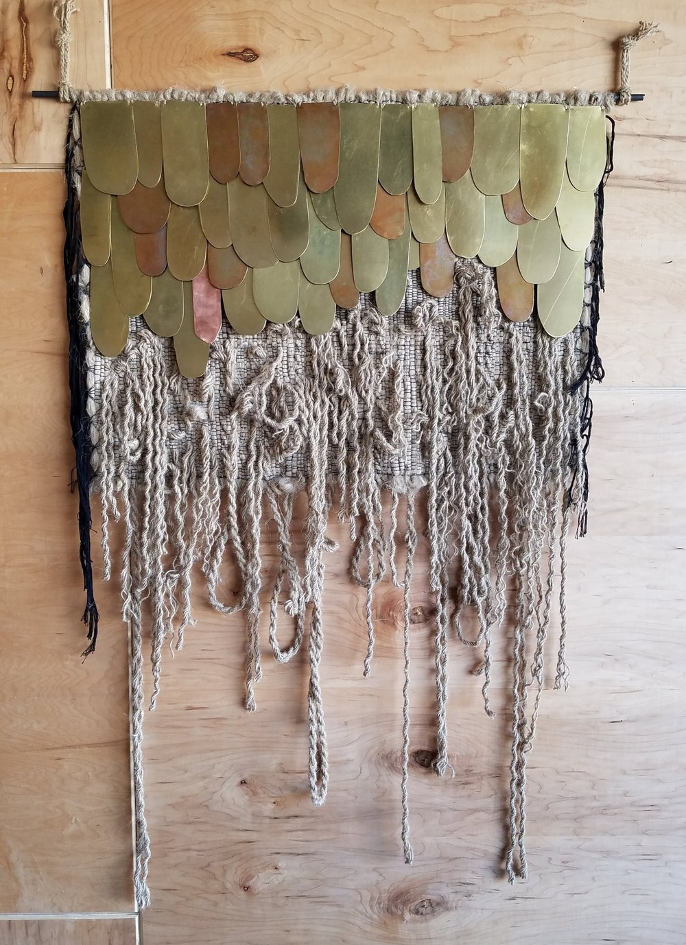 Mixed Metals Weaving