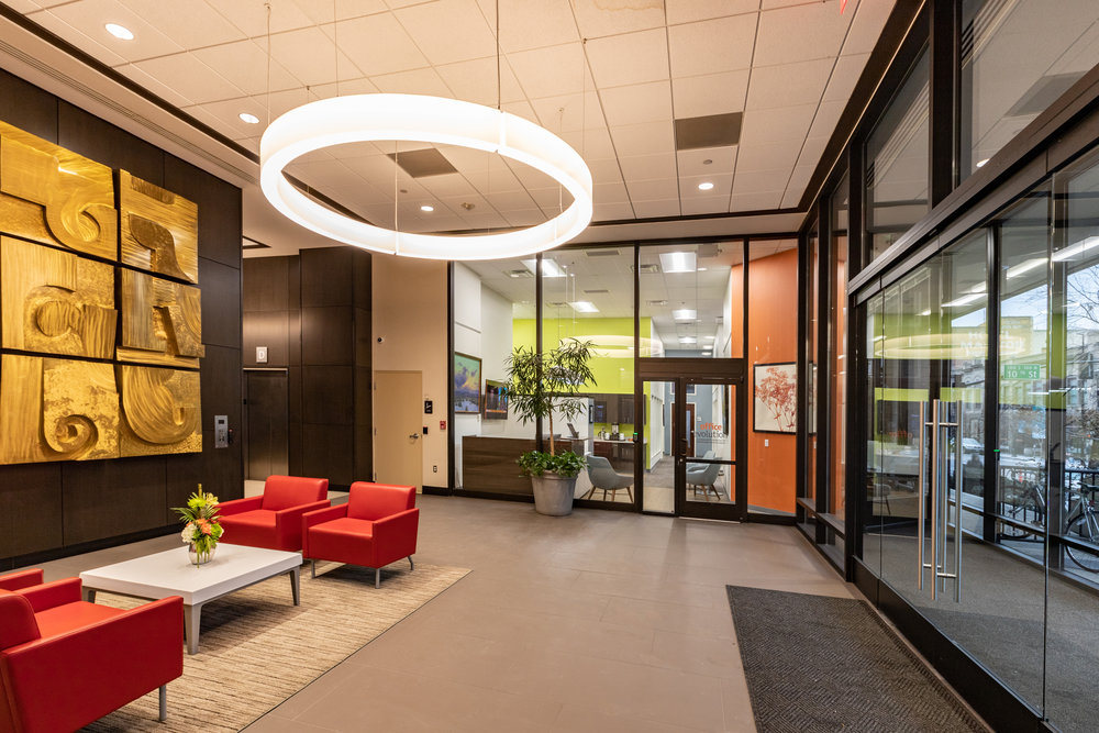Office Environment. Lobby, One Capital Center, Boise, ID