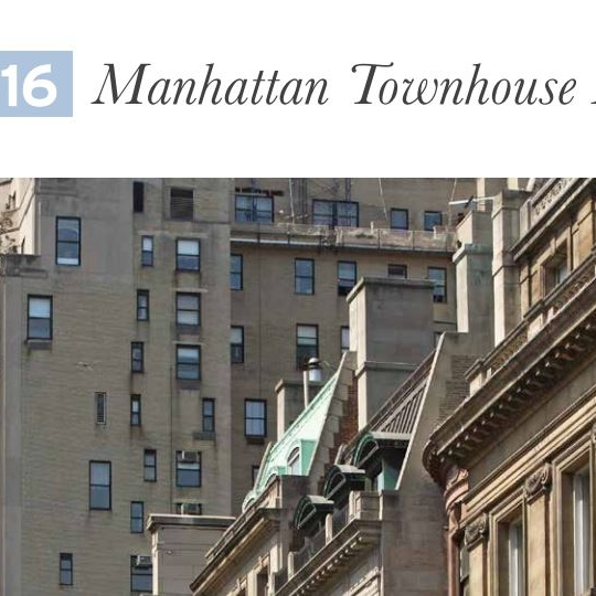 Manhattan Townhouse Report 2016