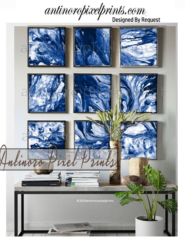 antinoro pixel prints set of 9 blue marble prints A.jpg